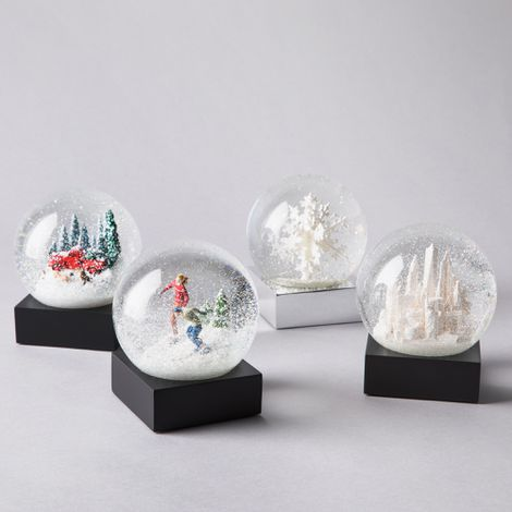 Handcrafted Holiday Snow Globes