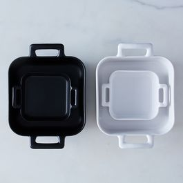 Porcelain Square Roasting Dishes