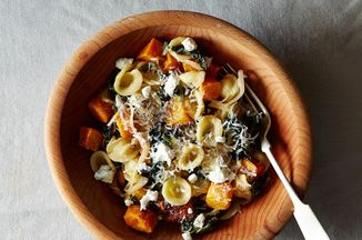 with Roasted Butternut Squash, Kale, and Caramelized Red Onion ...