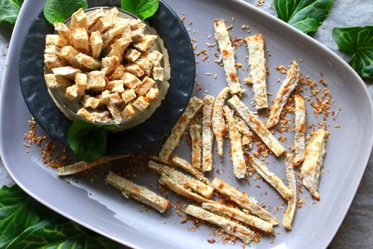 Coconut Crusted Taro Fries