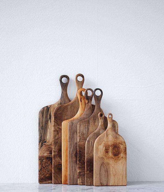 Herriott Grace wood cutting boards
