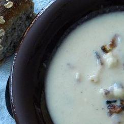 Really Creamy Cauliflower Soup