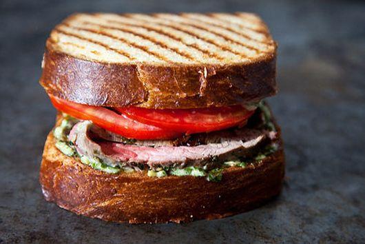A Steak Sandwich Party