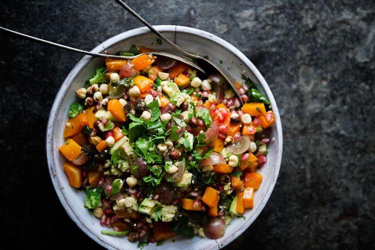 green kitchen stories 39 winter millet salad recipe on food52. Black Bedroom Furniture Sets. Home Design Ideas