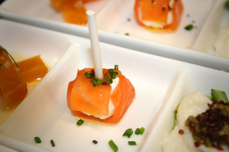 Smoked Salmon Lollipop
