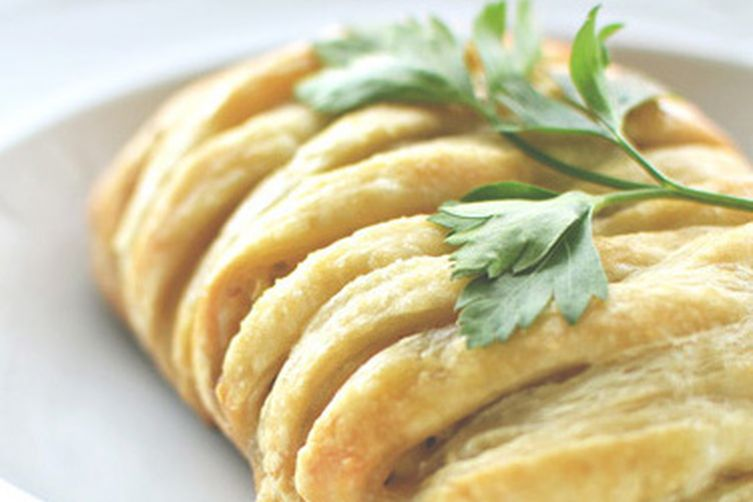 Savory Greek Breakfast Strudels