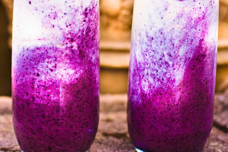 Purple Storm Pina Colada