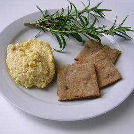7e04401a d6c8 44f6 b80d 216d2151601f  buckwheat rosemary crackers with hummus
