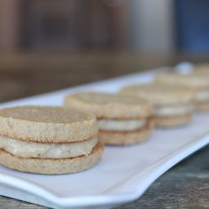 Peanut Butter Banana Sandwich Cookies