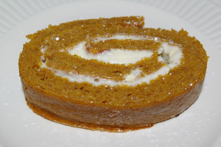 Maldon Pumpkin Cream Cheese Roll