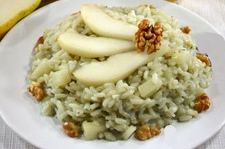 162dca99 9619 43ca a5f5 c6fae70e78fe  risotto gorgonzola and pears