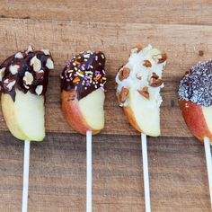 Chocolate Covered Apples