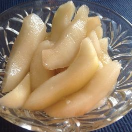 Cardamom Ginger Pear Pickles