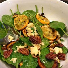 Roast Citrus and Fennel Salad with Honey Horseradish Vinaigrette