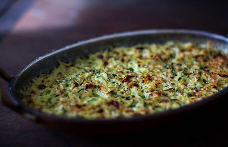 Julia Child's Zucchini Tian