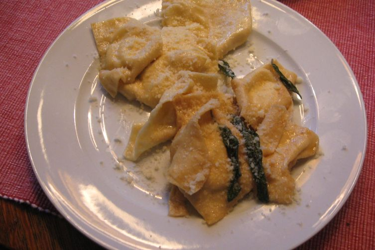 Ricotta Ravioli with Brown Sage Butter