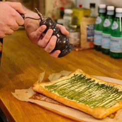 Super Quick Asparagus Tart