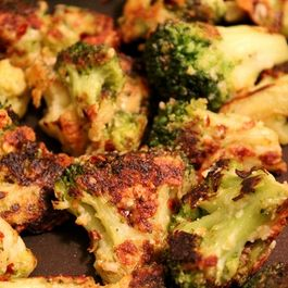 Parmesan Crusted Broccoli