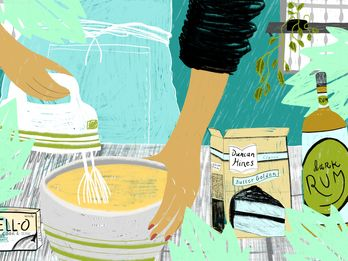 Why I'll Always Use a Boxed Mix For Mami's Famous Rum Cake