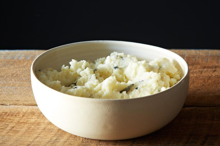 Mr. L's mashed potatoes from Food52