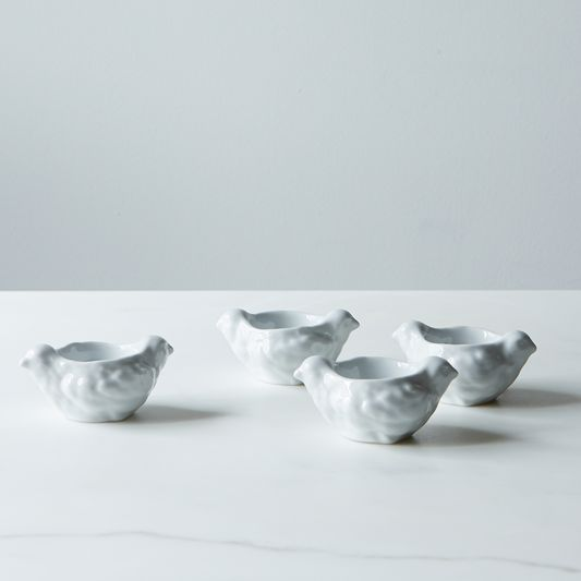 Hen-Shaped Egg Cup (Set of 4)