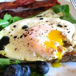Balsamic Fried Eggs