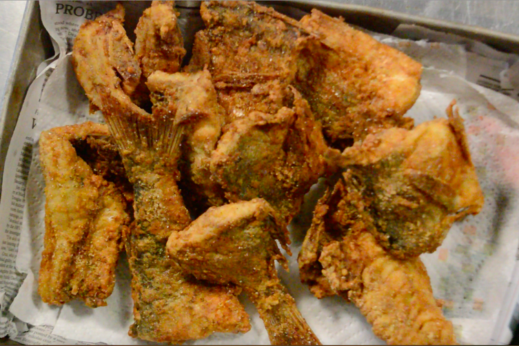 Friday Fried Fish