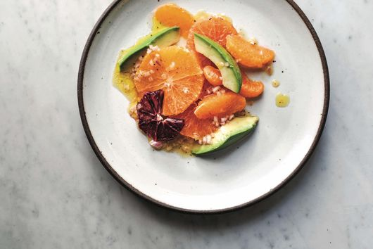 Avocado and Citrus Salad with Shallot Vinaigrette