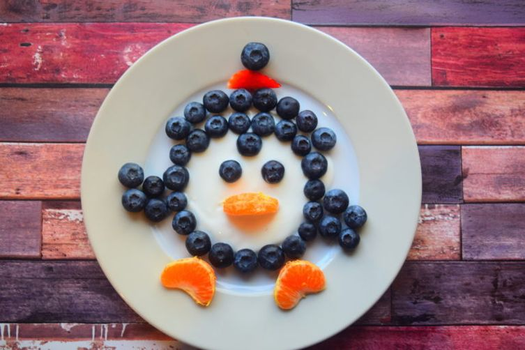 Penguin Food Art