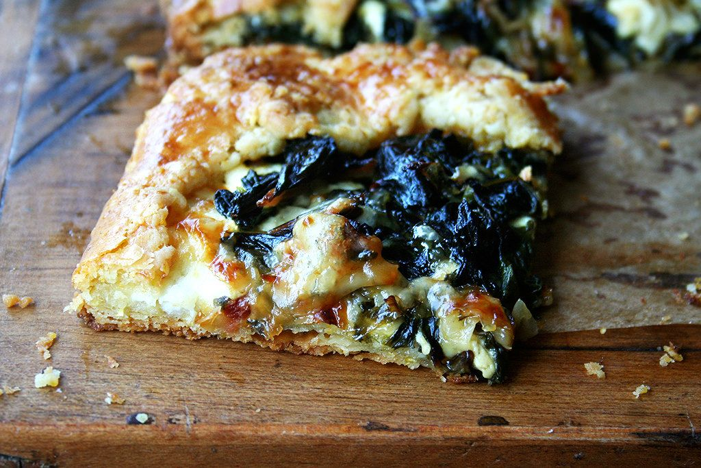 Galette with Swiss Chard and Gruyere Recipe