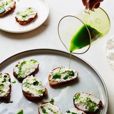 Emerald Green Herb Oil