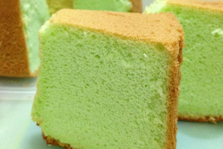 Pandan Chiffon Cake Recipe on Food52