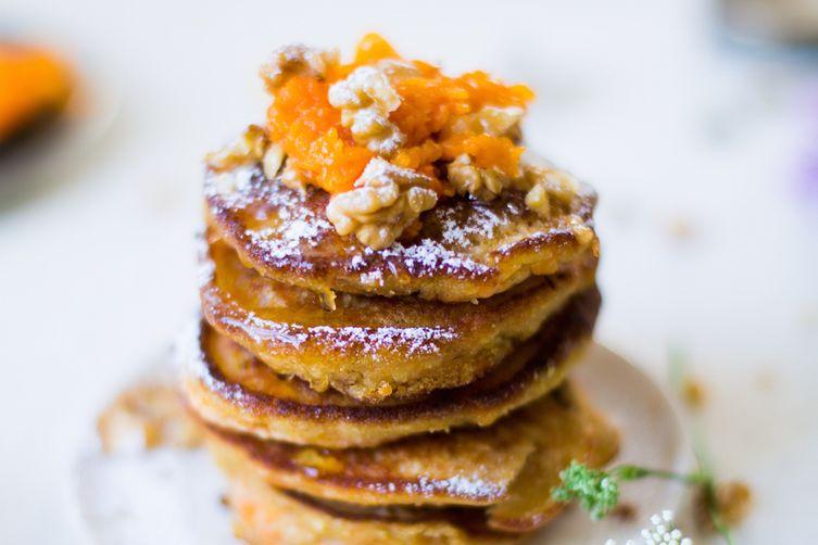 Kooie Kākā (North Iranian Pumpkin Pancakes)