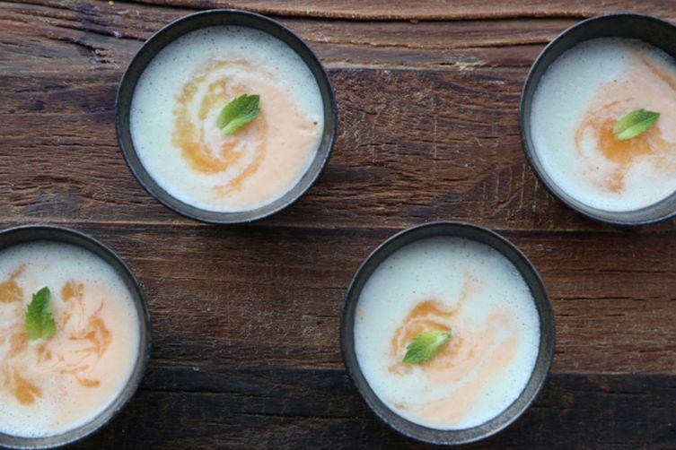 Soupe Aux Deux Melons (Two Melons Soup)