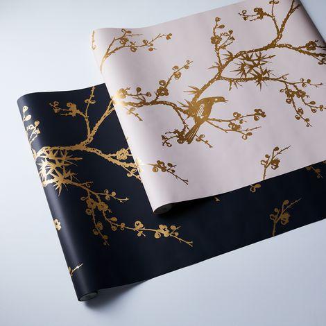 Self-Adhesive Wallpaper, Bird Watching
