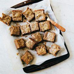 Chocolate Hazelnut Gianduja Blondies