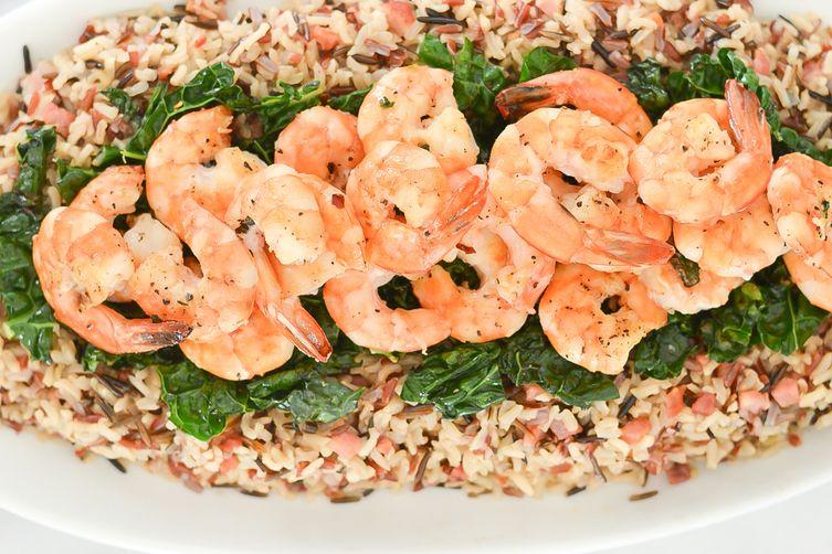 Shrimp + Pancetta Wild Rice Medley