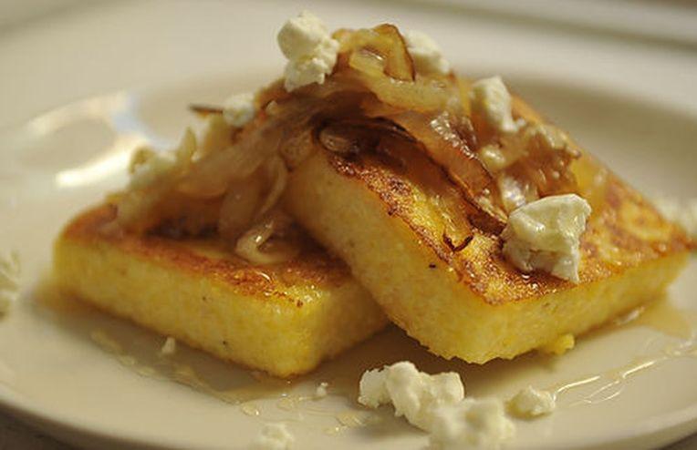 Dinner Tonight: Griddled Polenta Cakes