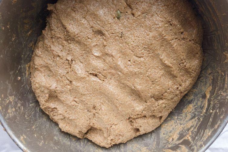 Whole Grain Sourdough Rye Bread