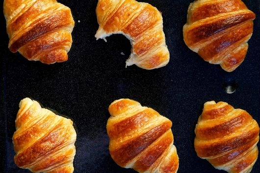 100% sourdough croissants (commercial yeast free)