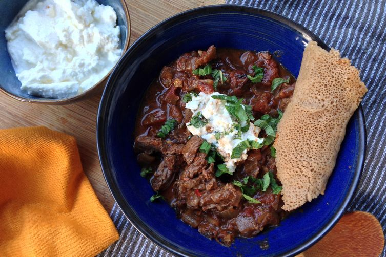 Key Wat (Spicy Ethiopian Stewed Beef)
