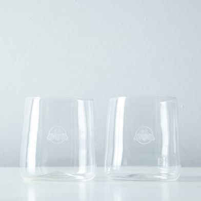 Roca Patrón Rocks Glasses (Set of 2)