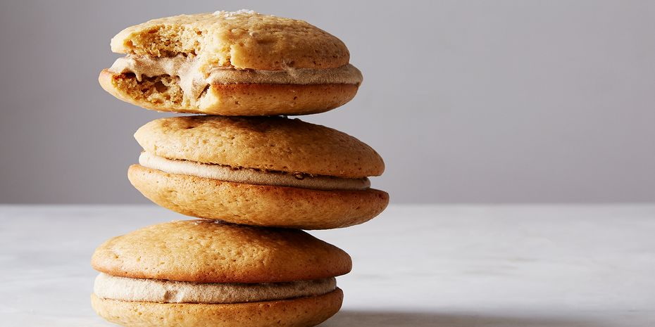 Salty butterscotch whoopie pies, to boot!