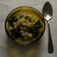 Garbanzo Bean Soup with a Twist