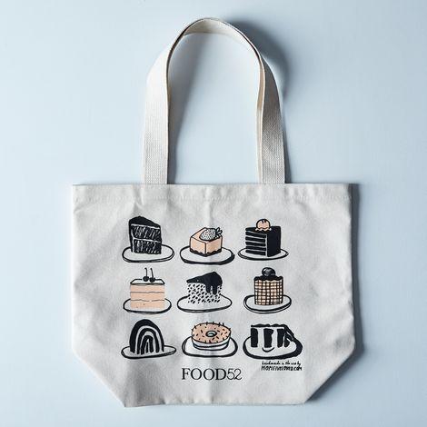 Food52 x People I've Loved Illustrated Desserts Tote