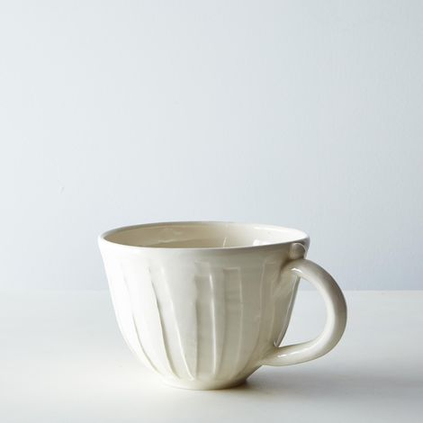Handthrown Large Earthenware Mug
