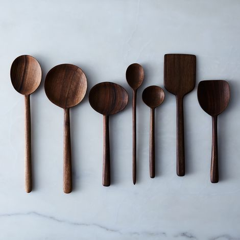 Simple Walnut Wooden Spoons