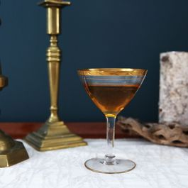 A Kind of Weird, Pretty Intense Jewel-Inspired Cocktail