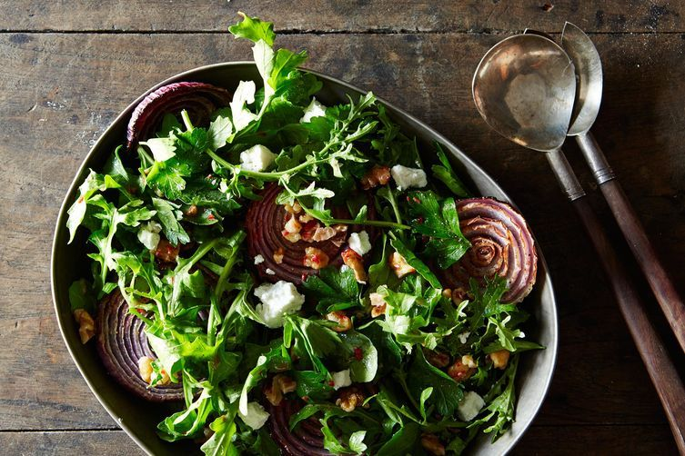 Roasted Onion Salad