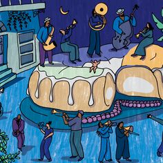 Every Lustrous King Cake Hides One Baby, But This One Hid 5
